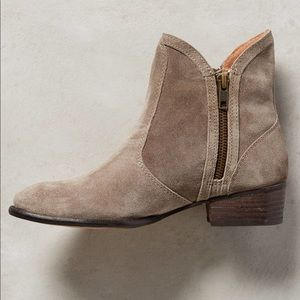 "Seychelles ""Lucky Penny"" bootie in grey"